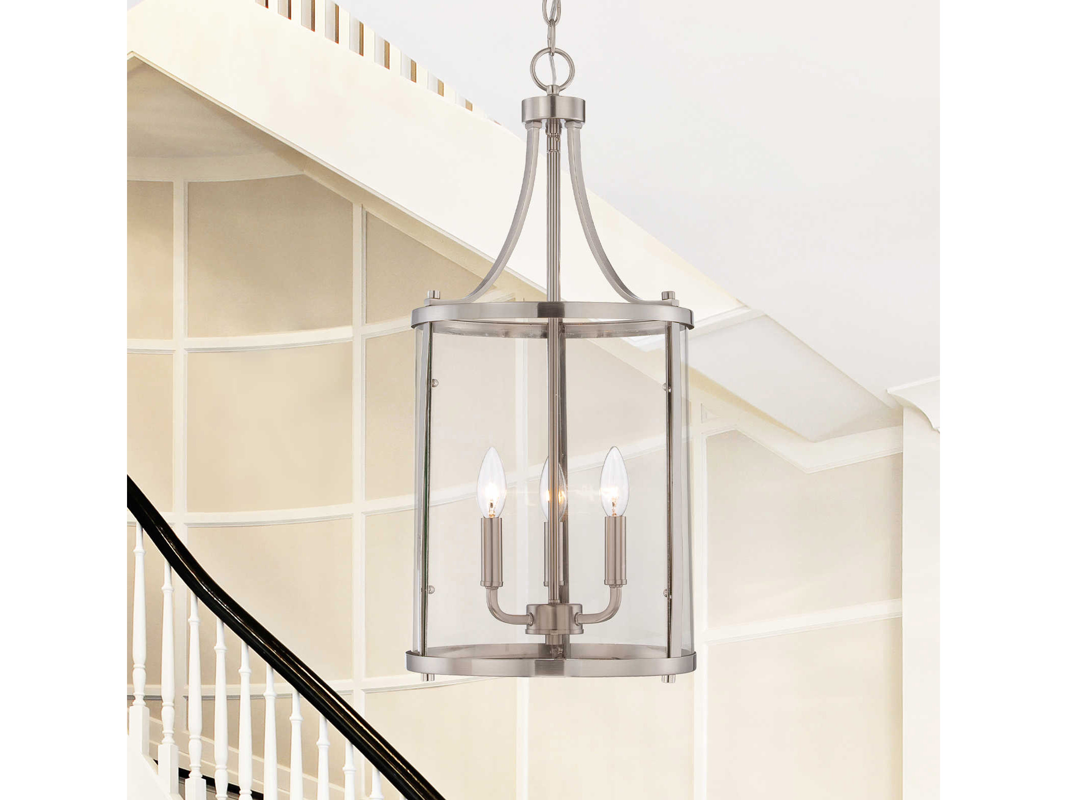 Savoy house americana penrose satin nickel three light for Savoy house