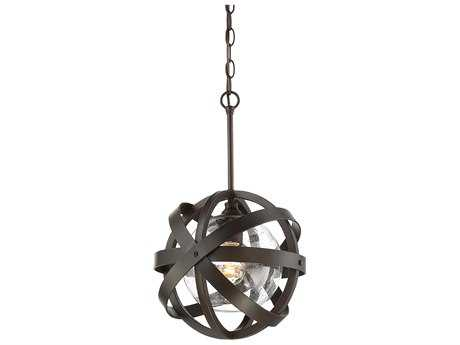 Savoy House Bassett English Bronze Outdoor Pendant Light