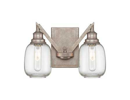 Savoy House Industrial Orsay Industrial Steel Two-Light Wall Sconce