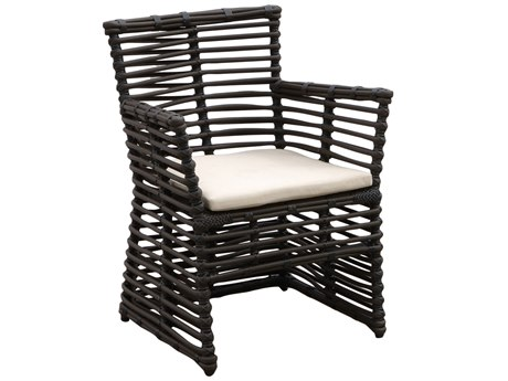 Sunset West Quick Ship Venice Wicker Dining Chair