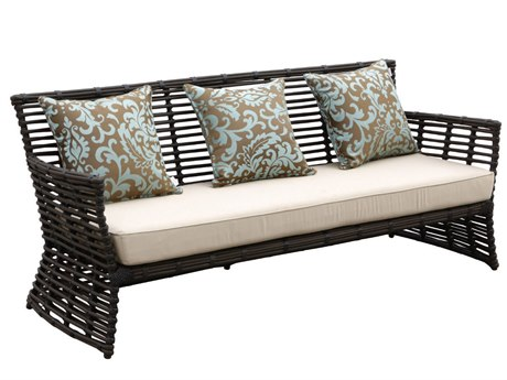 Sunset West Quick Ship Venice Wicker Sofa