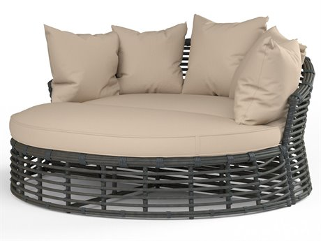 Sunset West Venice Wicker Double Chaise Lounge