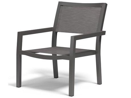 Sunset West Vegas Sling Aluminum Stackable Lounge Chair