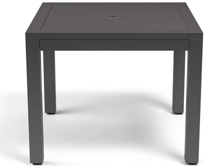 Sunset West Vegas Aluminum 36''Wide Square Dining Table