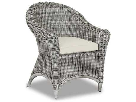 Sunset West La Costa Wicker Dining Chair