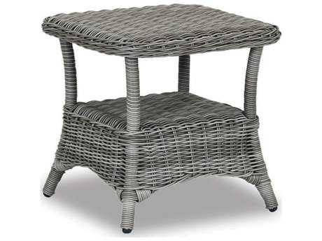 Sunset West Quick Ship La Costa Wicker 20 Square End Table