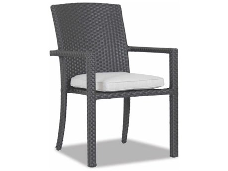 Solana Wicker Stacking Dining Chair