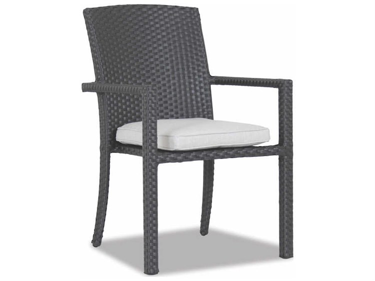 Sunset West Solana Wicker Stacking Dining Chair PatioLiving