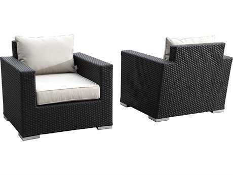 Sunset West Solana Wicker Club Chair