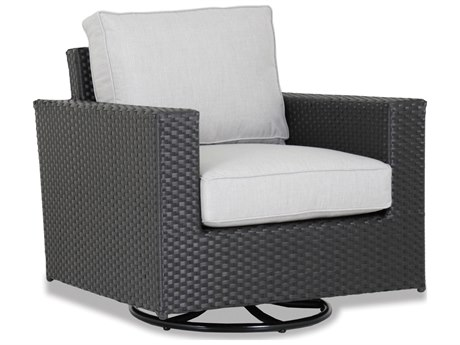 Sunset West Solana Wicker Swivel Rocking Club Chair SW150121SRNONSTOCK