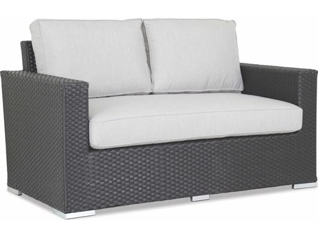 Sunset West Solana Wicker Loveseat