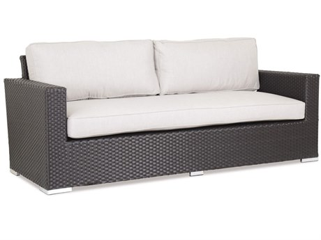 Sunset West Quick Ship Solana Wicker Sofa