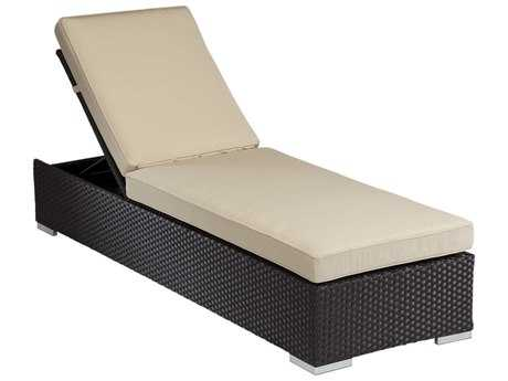 Sunset West Solana Wicker Chaise Lounge