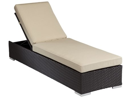 Sunset West Quick Ship Solana Wicker Chaise