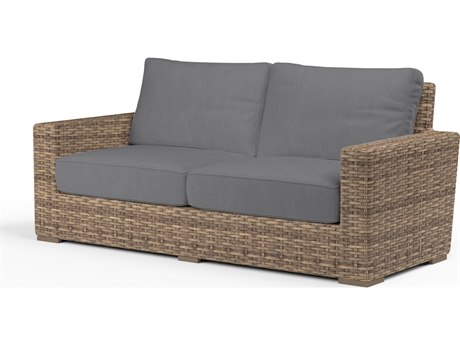 Sunset West Havana Wicker Loveseat