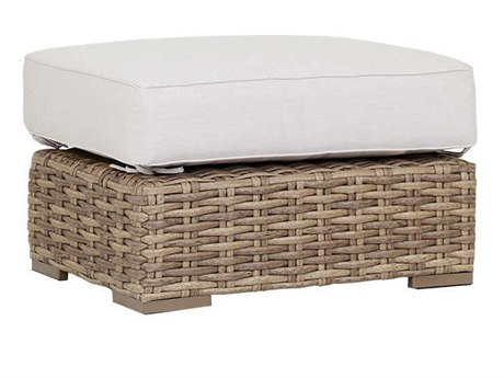 Sunset West Havana Wicker Ottoman