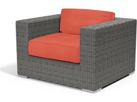 Sunset West Emerald II Wicker Lounge Chair