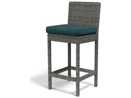 Sunset West Emerald II Wicker Barstool