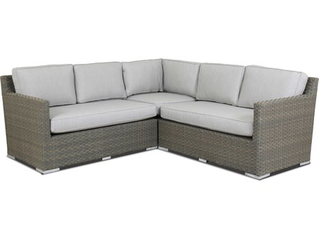 Sunset West Majorca Wicker Sectional SW2001SECNONSTOCK