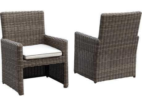 Sunset West Coronado Wicker Dining Arm Chair