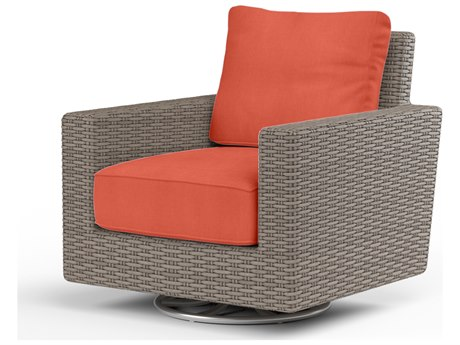 Sunset West Coronado Wicker Swivel Rocker SW210121SRNONSTOCK