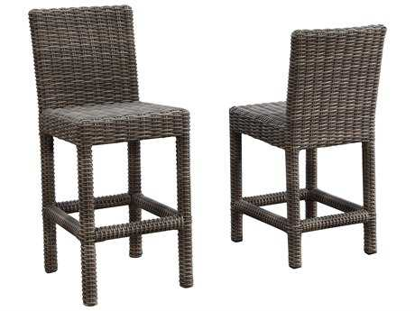 Sunset West Coronado Wicker Barstool
