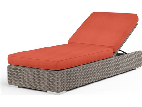 Sunset West Coronado Wicker Adjustable Chaise Lounge