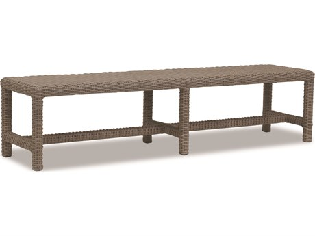 Sunset West Quick Ship Coronado Wicker Dining Bench