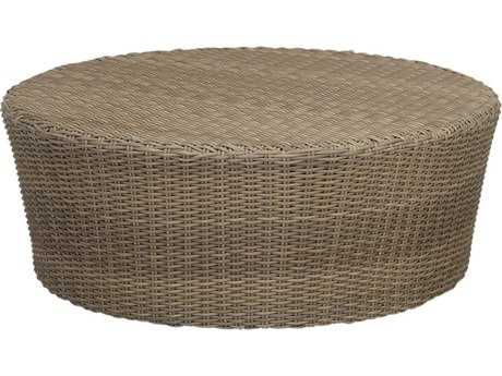 Sunset West Quick Ship Coronado Wicker 48 Round Coffee Table