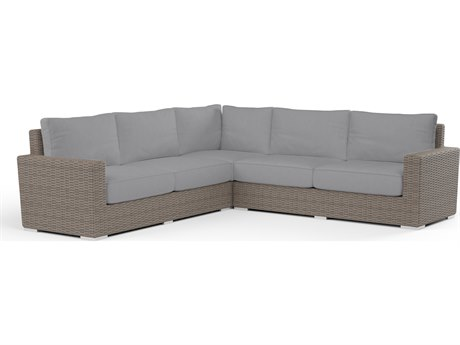 Sunset West Coronado Wicker Sectional