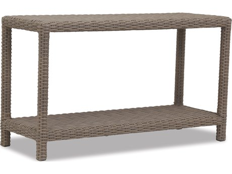 Sunset West Quick Ship Coronado Wicker 51 x 18 Rectangular Sofa Table