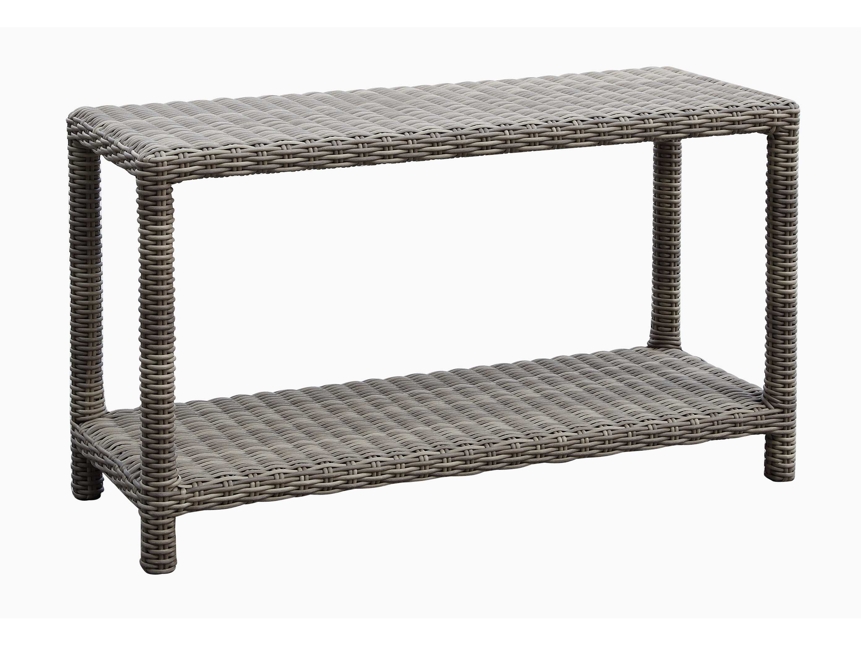 Sunset West Quick Ship Coronado Wicker 51 X 18 Rectangular Sofa Table SW2101ST