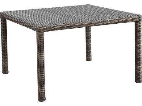 Sunset West Quick Ship Coronado Wicker 48 Square Dining Table