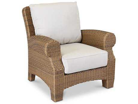 Sunset West Quick Ship Santa Cruz Wicker Club Chair