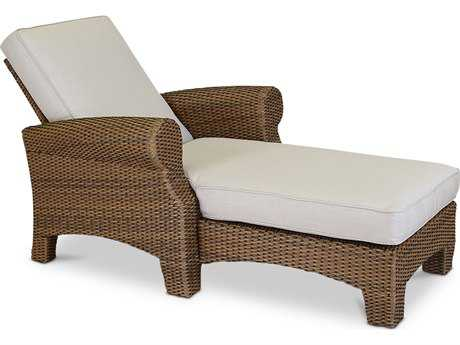 Sunset West Santa Cruz Wicker Adjustable Single Chaise
