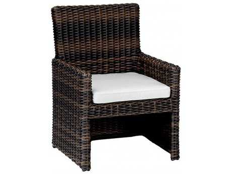Sunset West Quick Ship Montecito Wicker Dining Chair