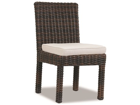 Sunset West Montecito Wicker Armless Dining Chair