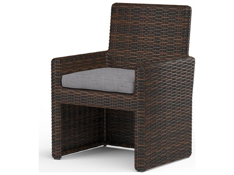 Sunset West Montecito Wicker Dining Chair