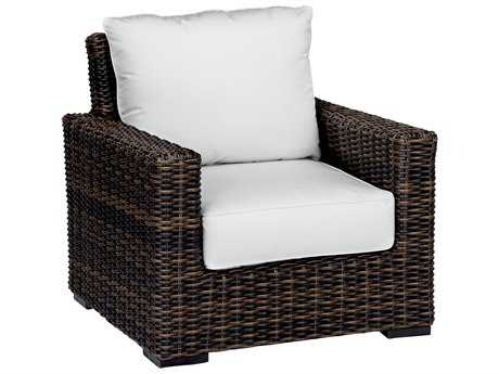 Sunset West Quick Ship Montecito Wicker Club Chair