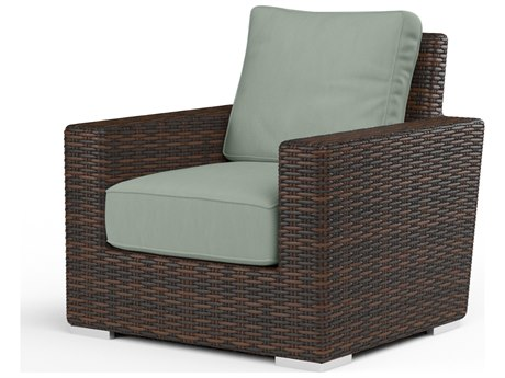 Sunset West Montecito Wicker Club Chair SW250121NONSTOCK
