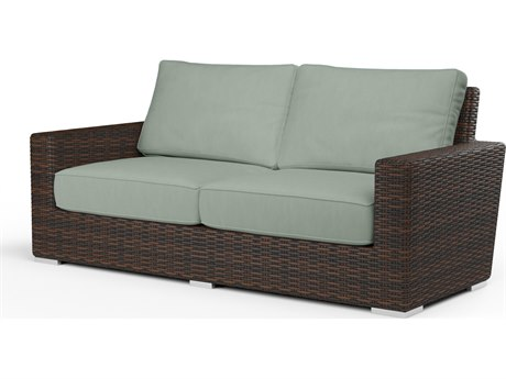 Sunset West Montecito Wicker Loveseat