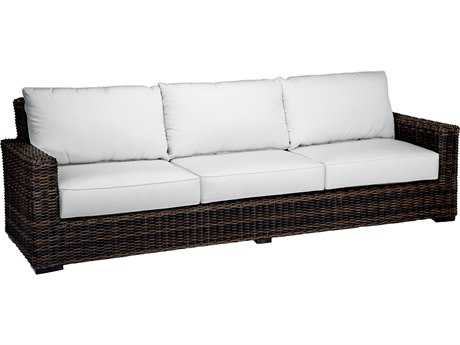 Sunset West Quick Ship Montecito Wicker Sofa