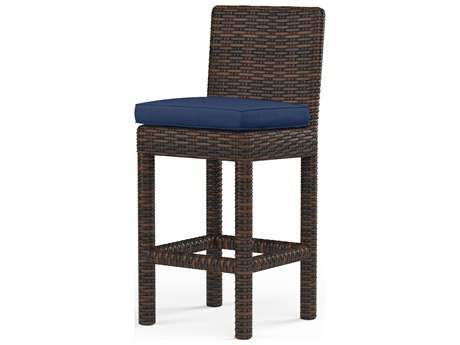 Sunset West Montecito Wicker Barstool