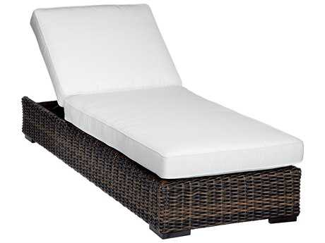 Sunset West Quick Ship Montecito Wicker Adjustable Chaise