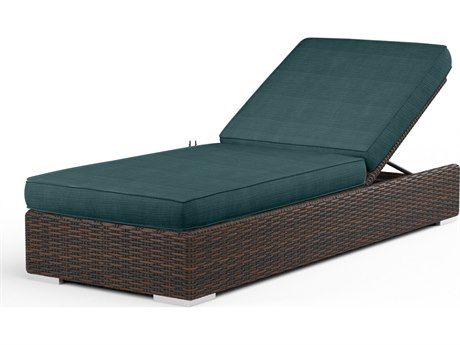 Sunset West Montecito Wicker Adjustable Chaise