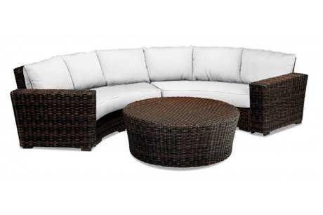 Sunset West Montecito Curved LovSectional
