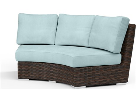 Sunset West Montecito Curved Loveseat