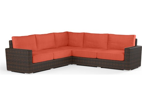Sunset West Montecito Wicker Sectional