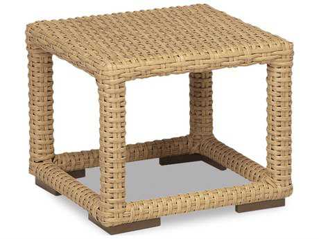Sunset West Quick Ship Leucadia Wicker 23 Square End Table