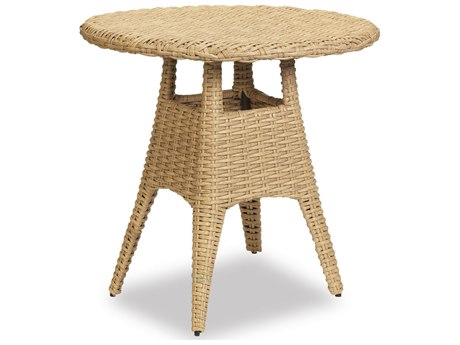 Sunset West Quick Ship Leucadia Wicker 36 Round Pub Table